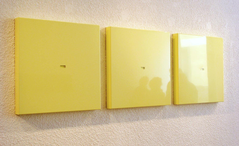 Série de peintures à niveau à bulle
