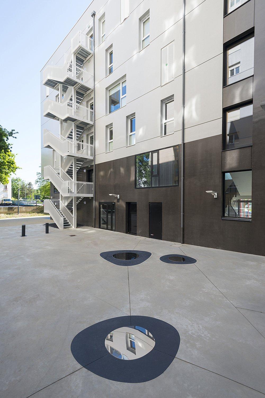 Jardin. Le Samara, pôle médico-social, à Rennes